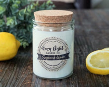 Load image into Gallery viewer, SUGARED LEMON Soy Candle