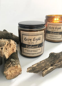FIREWOOD Wood Wick Candle