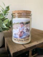 Load image into Gallery viewer, Personalized Photo Soy Candle