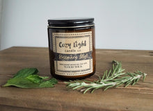 Load image into Gallery viewer, ROSEMARY MINT Wood Wick Candle