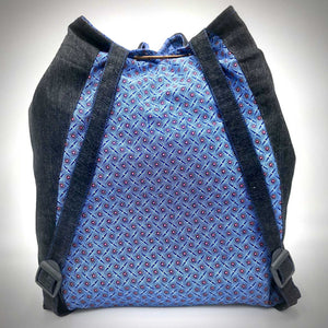 Bosisi Designs Backpack - Mineral Blue