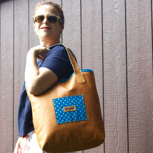 Everyday Butter Leather Handbag - Night Blue