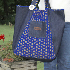 Shopper Bag Shopping Tote - Starburst