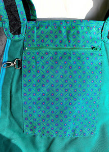 Shopper Bag Shopping Tote - Aloe Green