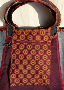 Bosisi Designs Shopper Bag Shopping Tote - Marula Caramel Brown