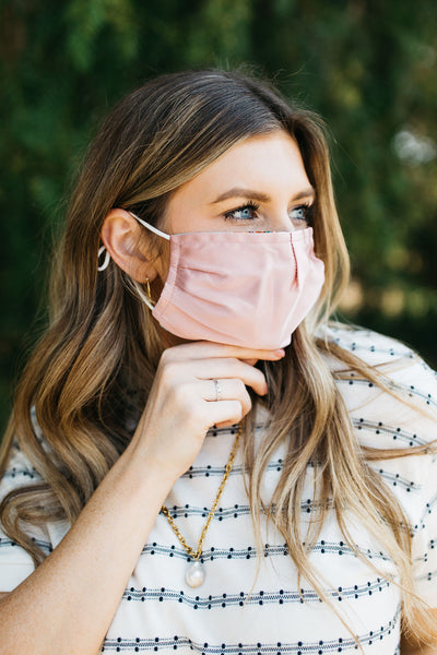 Elise Satin Face Mask