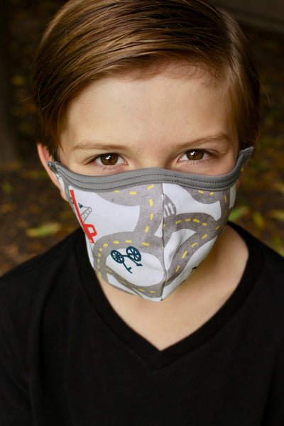 Cars Children's Comfort Face Mask