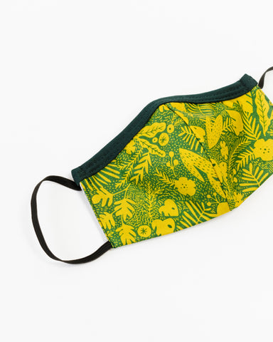 Jungle Fern Children's Face Mask