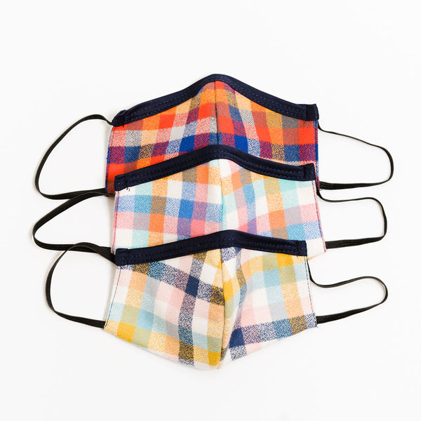 Kids 3 pack Flannel Age 8-12