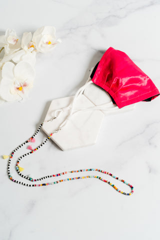 Phoenix Tassel Mask Necklace