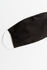 Black Large Face Mask