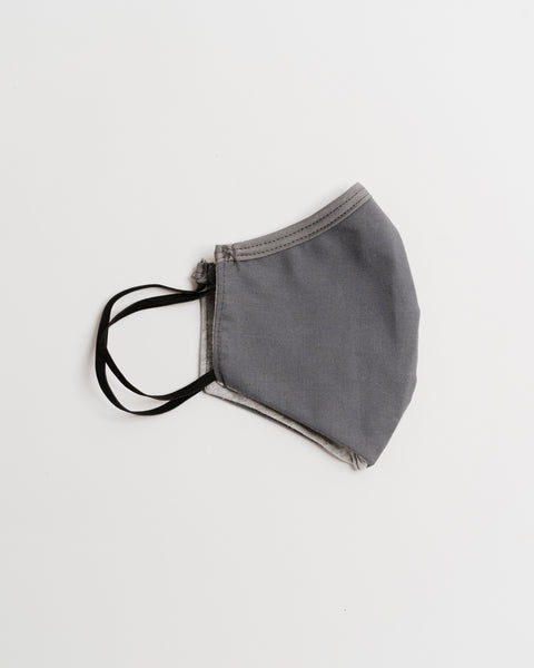 Gray Comfort Face Mask (Adult & Kids)