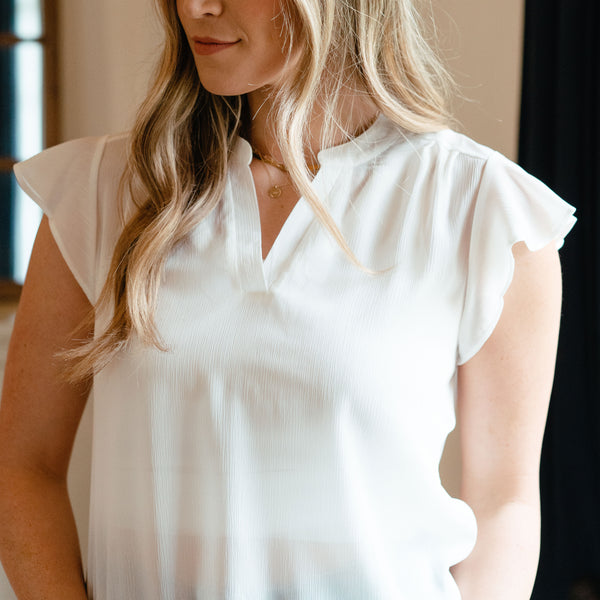 Genevieve Blouse White