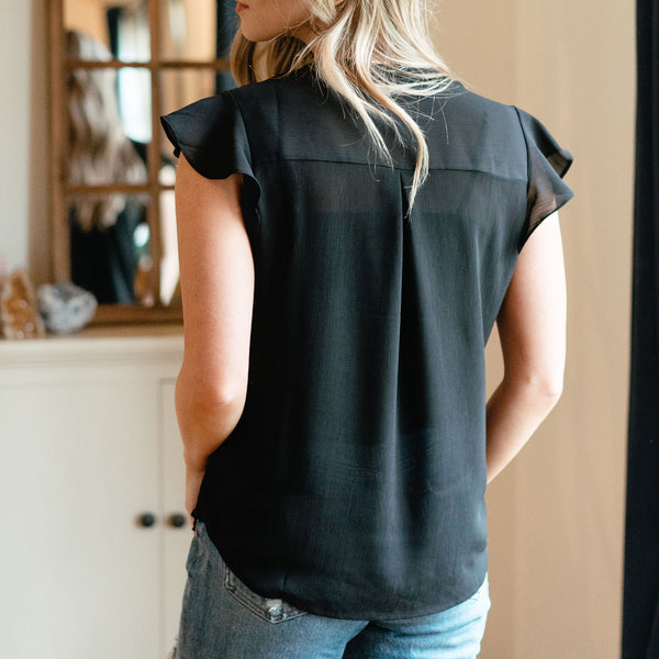 Genevieve Blouse Black