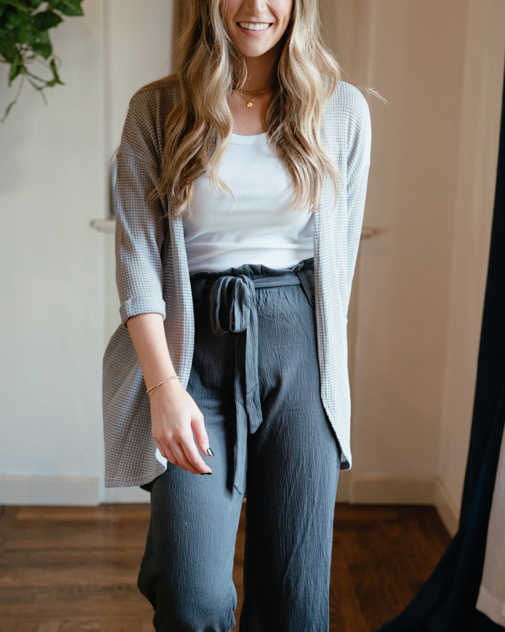 Free Spirit Lounge Pant Gray