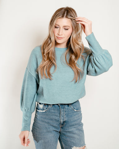 Ultra Soft Sweater Teal