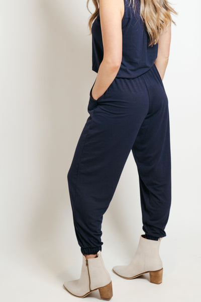 Lounge Jumpsuit Navy