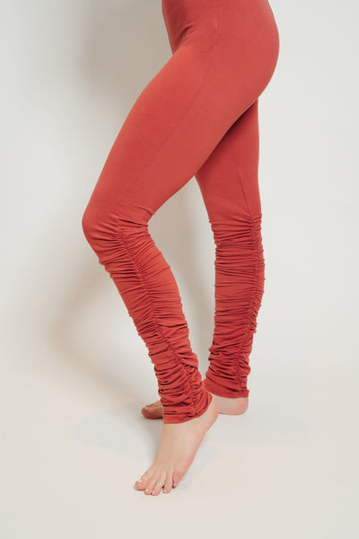 Ultra Soft Stacked Leggings Brick