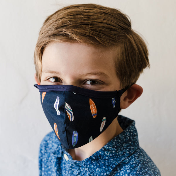 Surf's Up Children's Face Mask