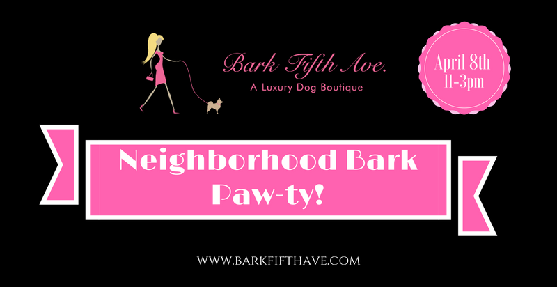 Neighborhood Bark Paw-ty!