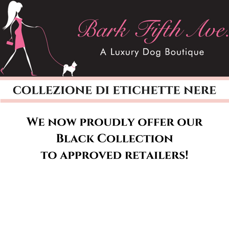 We now offer our Black Collection to approved retailers!