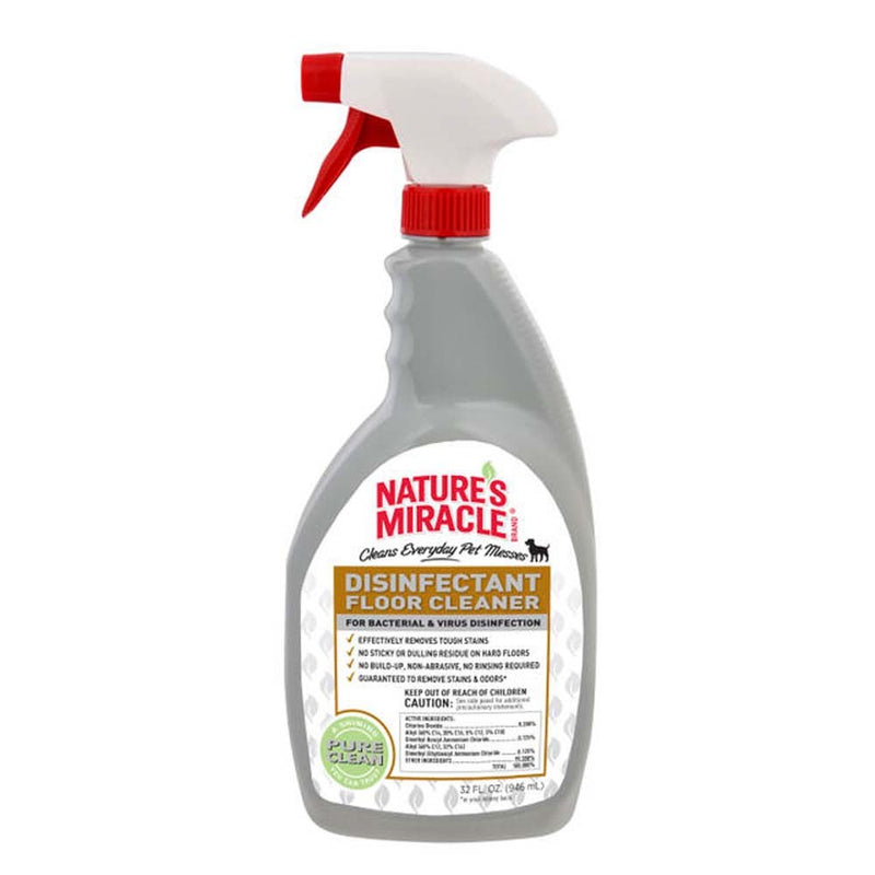NATURE'S MIRACLE DISINFECTANT ODOR ELIMINATOR DOG 32OZ