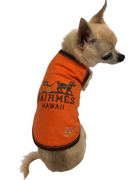 Hairmes Hawaii Dog Carriage Tank - Bark Fifth Avenue