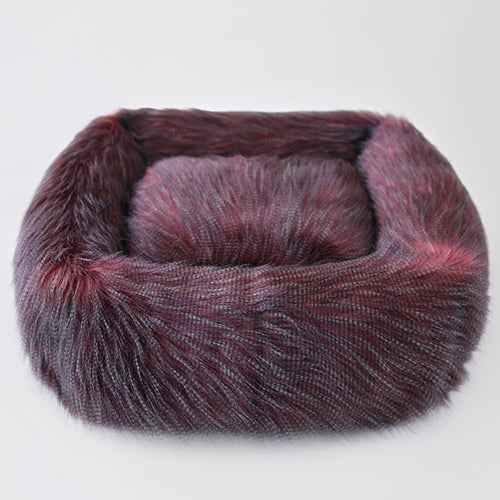 Exotic Ostrich Dog Bed - Bark Fifth Avenue