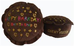 "Chewy Vuiton ""Happy Barkday Cake"" - Bark Fifth Avenue"