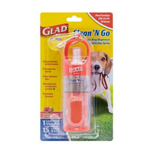 Load image into Gallery viewer, GLAD Clean & Go Wastebag Dispenser + Sanitizing Spray
