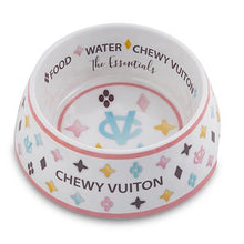 Load image into Gallery viewer, Chewy Vuiton Bowl (White)