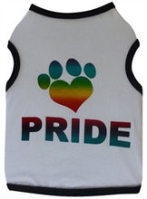 Load image into Gallery viewer, Pride Paw - White - Bark Fifth Avenue
