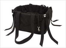 Load image into Gallery viewer, Luxury Susan Lanci Tail Bow Heart Carrier - Bark Fifth Avenue
