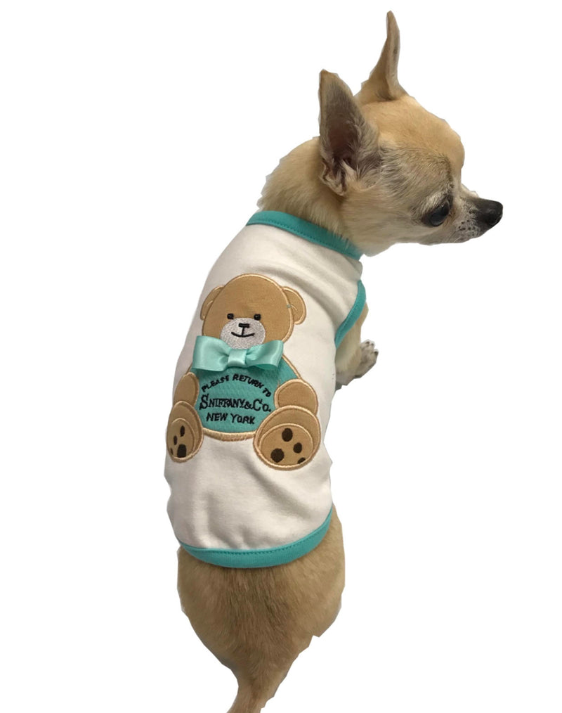 Sniffany Boy Bear Tank - Bark Fifth Avenue