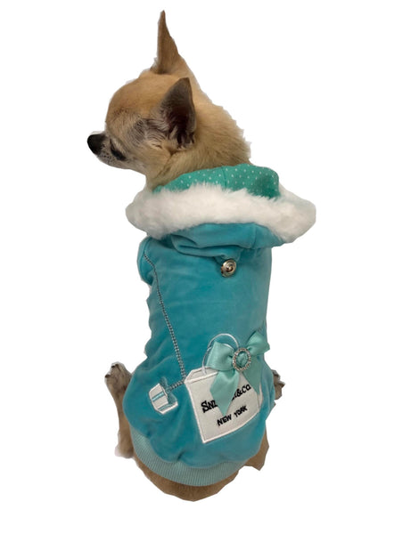 SNIFFANY SHOPPING BAG HOODIE