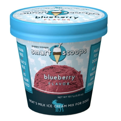 Smart Scoops Goat's Milk Ice Cream Mix - Blueberry - Bark Fifth Avenue
