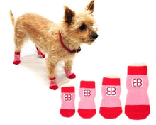 Load image into Gallery viewer, Home Comfort Traction Control Socks - Bark Fifth Avenue
