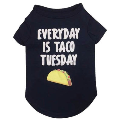 Taco Tuesday T-Shirt in Heather Blue - Bark Fifth Avenue
