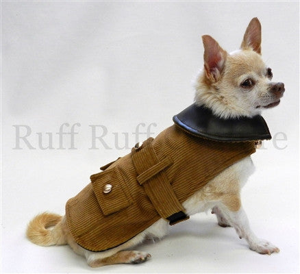 Brown Riding Coat - Bark Fifth Avenue