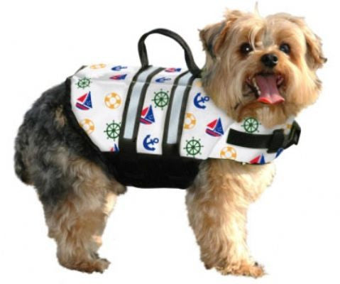 """Nautical"" Designer Life Jacket - Bark Fifth Avenue"