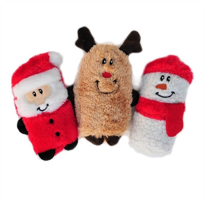 Squeakie Buddie - Holiday 3 Pack - Bark Fifth Avenue