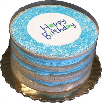 Boy Layered Birthday Cakes - Bark Fifth Avenue