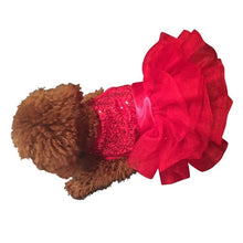 Load image into Gallery viewer, Picture Perfect Red Sequins Fufu Tutu - Bark Fifth Avenue