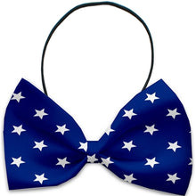 Load image into Gallery viewer, Stars Pet Bow Tie - Bark Fifth Avenue
