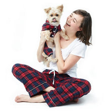 Load image into Gallery viewer, Cozy Flannel Dog Pajamas - Bark Fifth Avenue