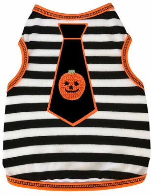 PUMPKIN TIE STRIPE TANK - Bark Fifth Avenue