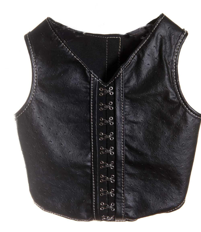 Ostrich Vest - Bark Fifth Avenue