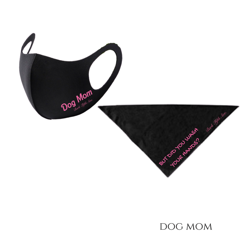 The Mommy & Me Face Mask & Bandana Set