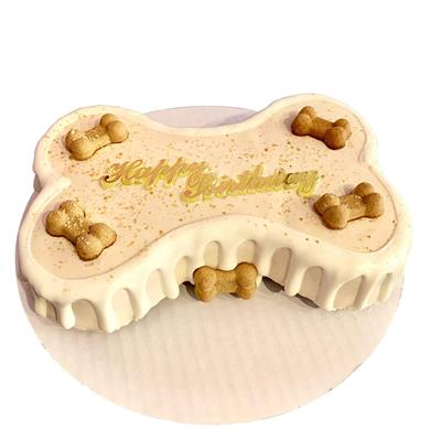 "9"" Birthday Bone Cake - Bark Fifth Avenue"