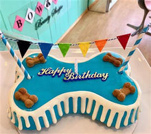 "Load image into Gallery viewer, 9"" Birthday Bone Cake - Bark Fifth Avenue"